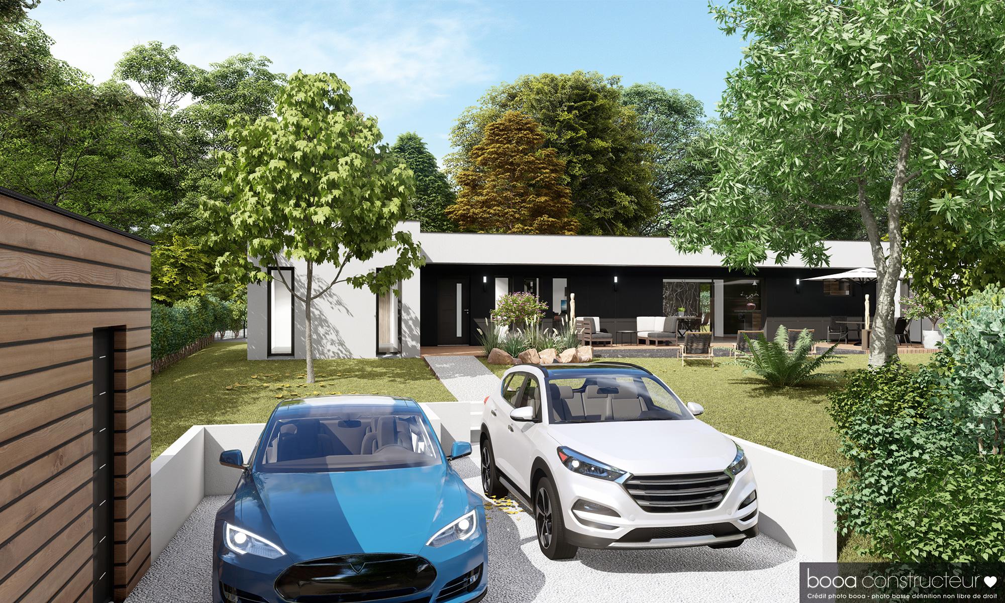 maison à ossature bois Morbihan